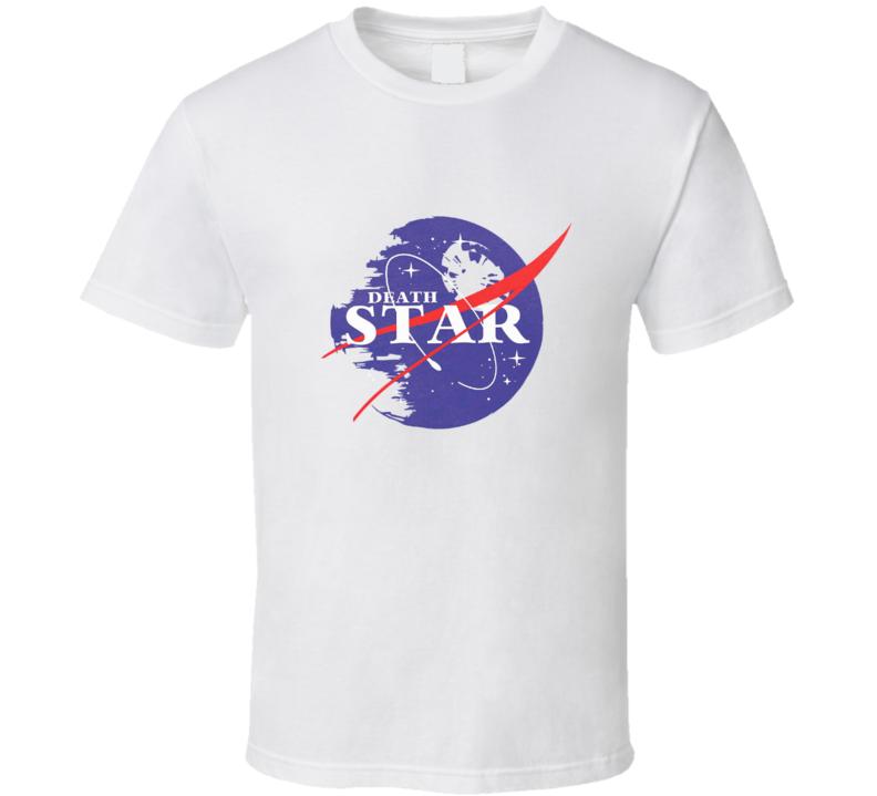 Death Star NASA Inspired Star Wars Rogue One Movie Worn T Shirt