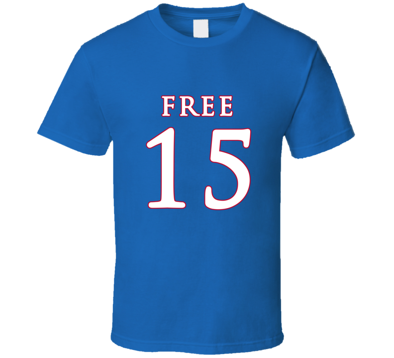Free Carlton Bragg 15 Kansas Jayhawks Basketball T Shirt