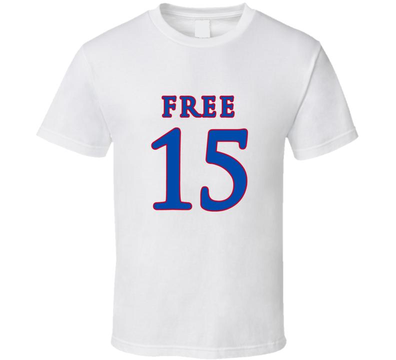 Free 15 Carlton Bragg Kansas Jayhawks Basketball T Shirt