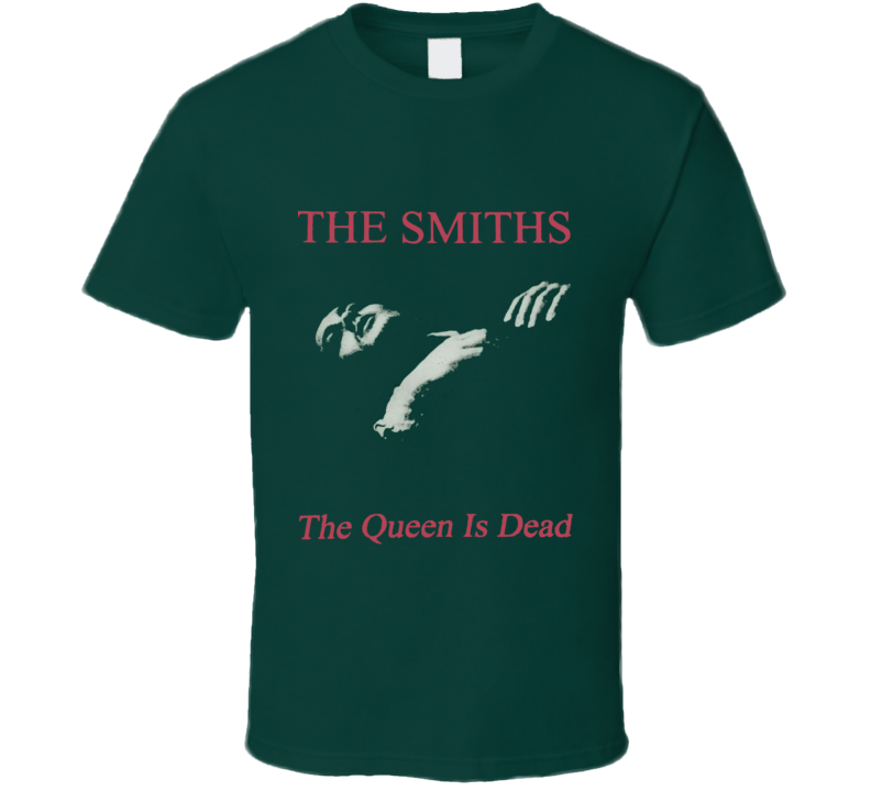 The Smiths The Queen is Dead Replica Album Rock Music Band T Shirt