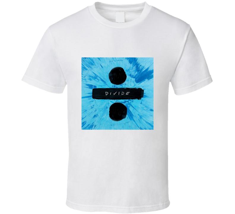 Ed Sheeran Pop Acoustic Music Divide Multiply X Concert Singer T Shirt