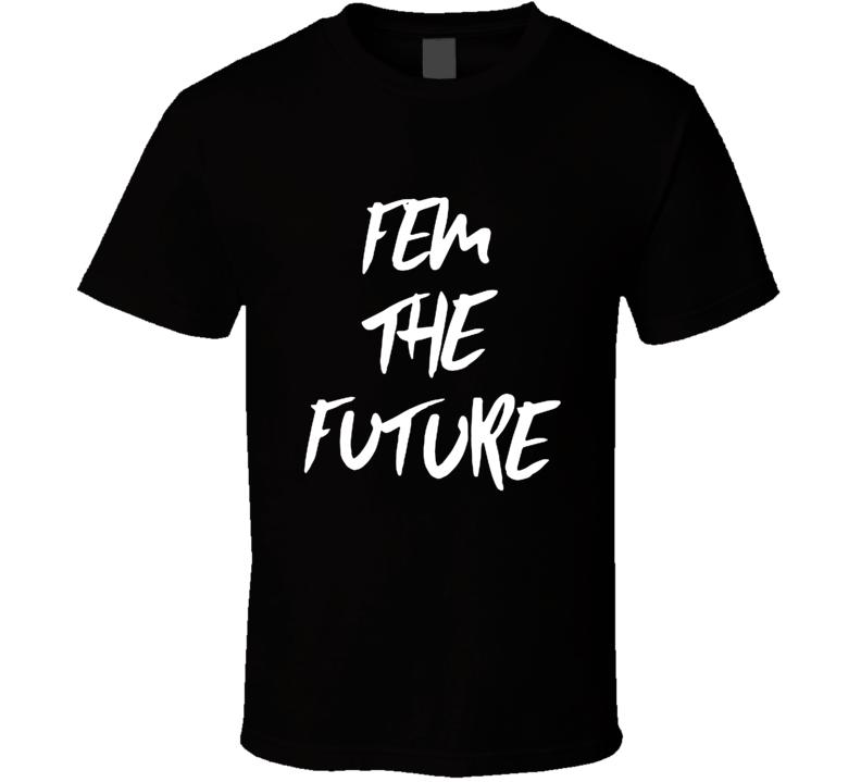 Fem the Future Woman's March Janelle Monae Replica Feminist T Shirt