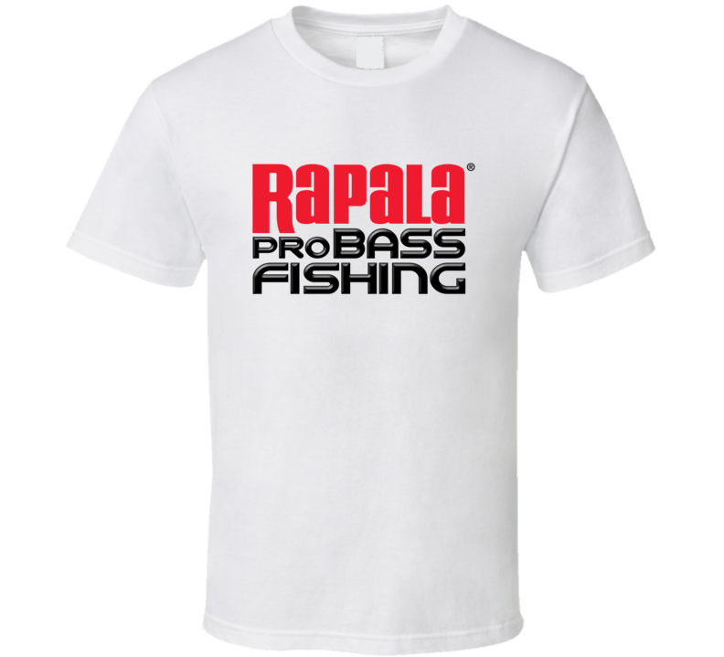 Rapala Pro Bass Fishing Lures Lover Gift Father's Day T Shirt