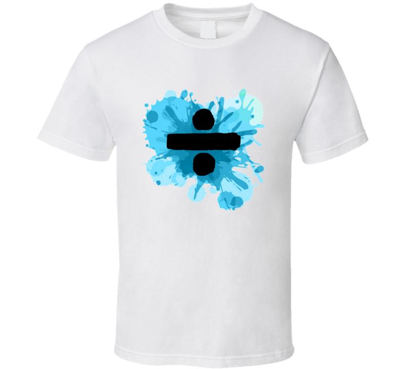 Ed Sheeran Divide New Music Album Fan Gift T Shirt