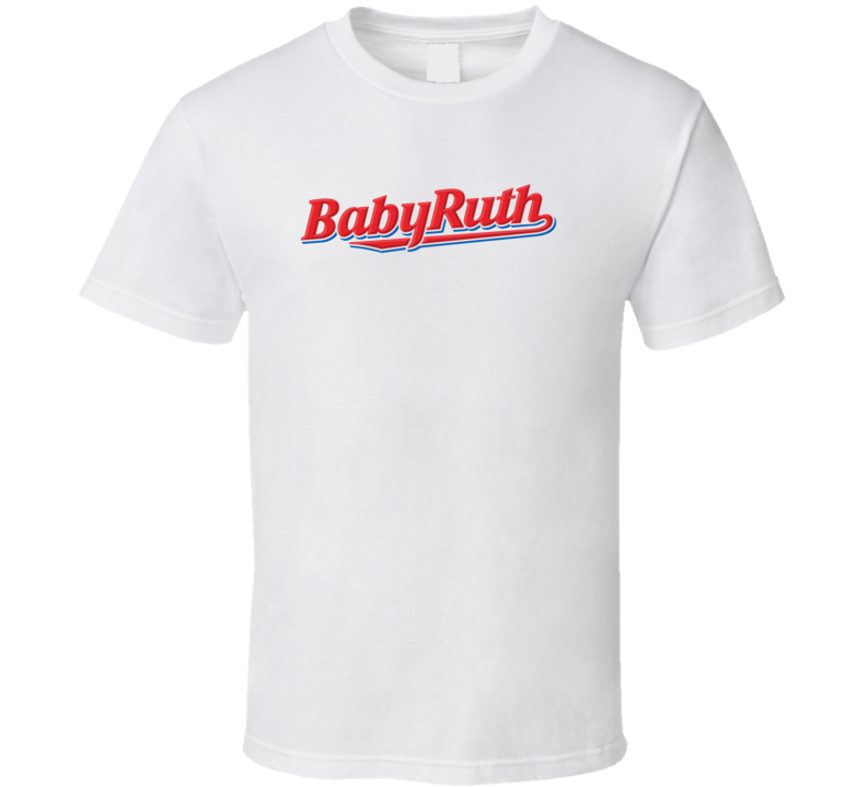 Babyruth Chocolate Candy Food Cool Worn Funny T Shirt