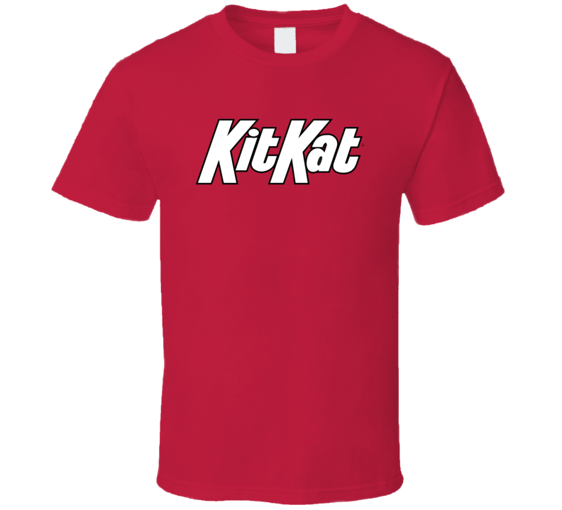 Kit Kat Chocolate Candy Food Cool Worn Funny T Shirt