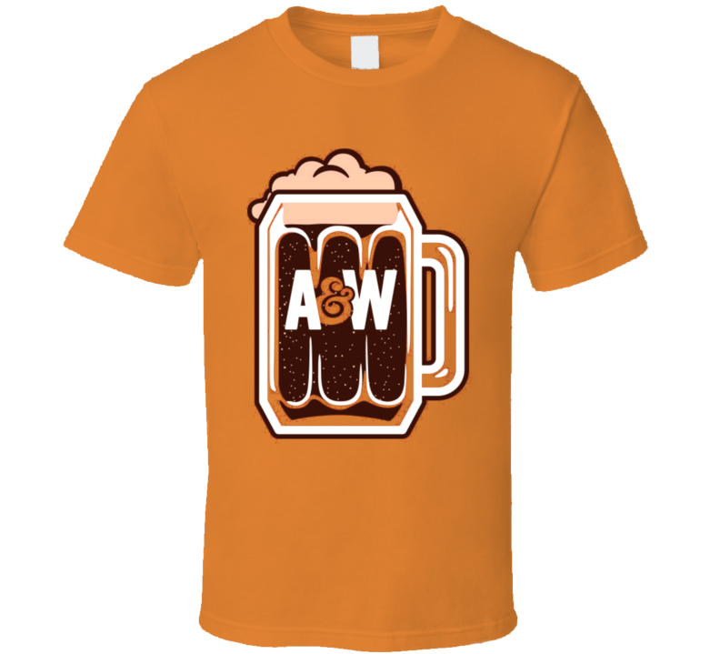 A&W Root Beer Soda Food Cool T Shirt
