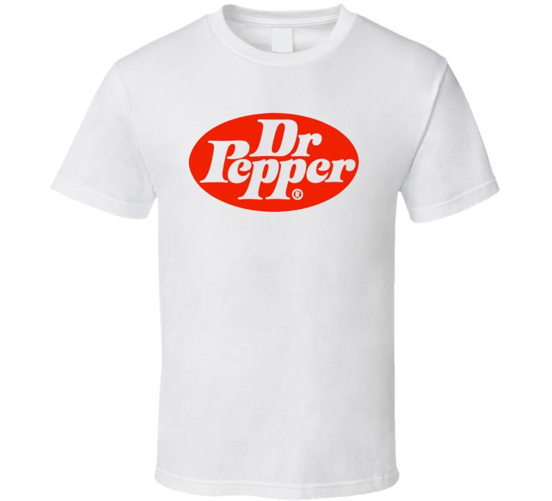 Dr Pepper Soda Pop Cherry Logo Cool T Shirt
