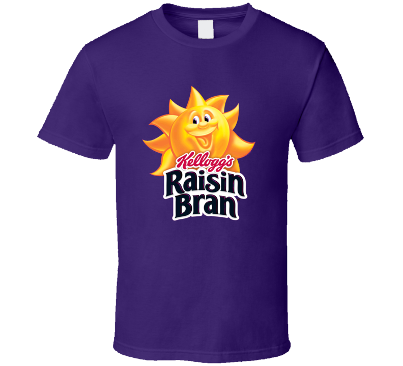 Raisin Bran Cereal Logo Gift T Shirt