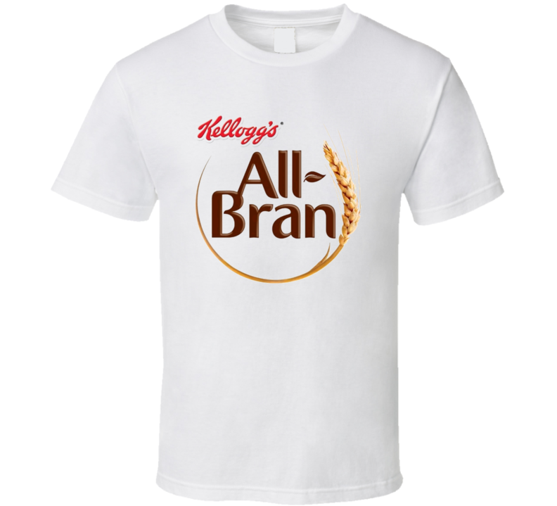 All Bran Cereal Logo Gift T Shirt