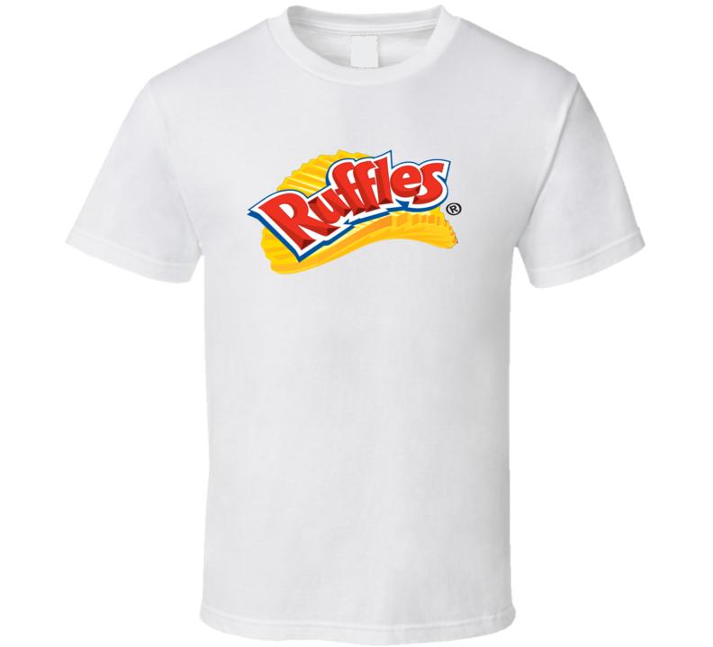 Ruffles Chips Food Snack Fan Cool Gift T Shirt