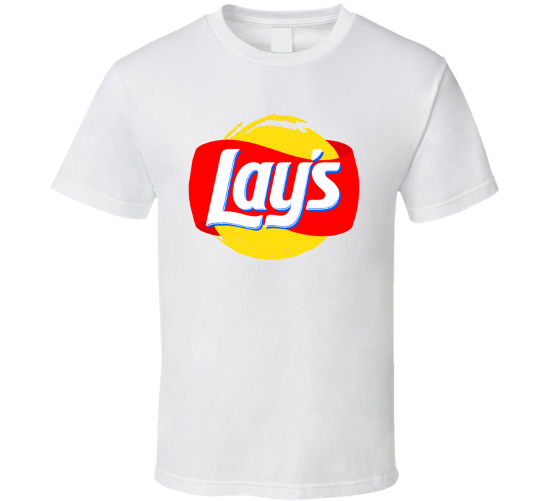Lays Chips Logo Food Snack Fan Cool T Shirt