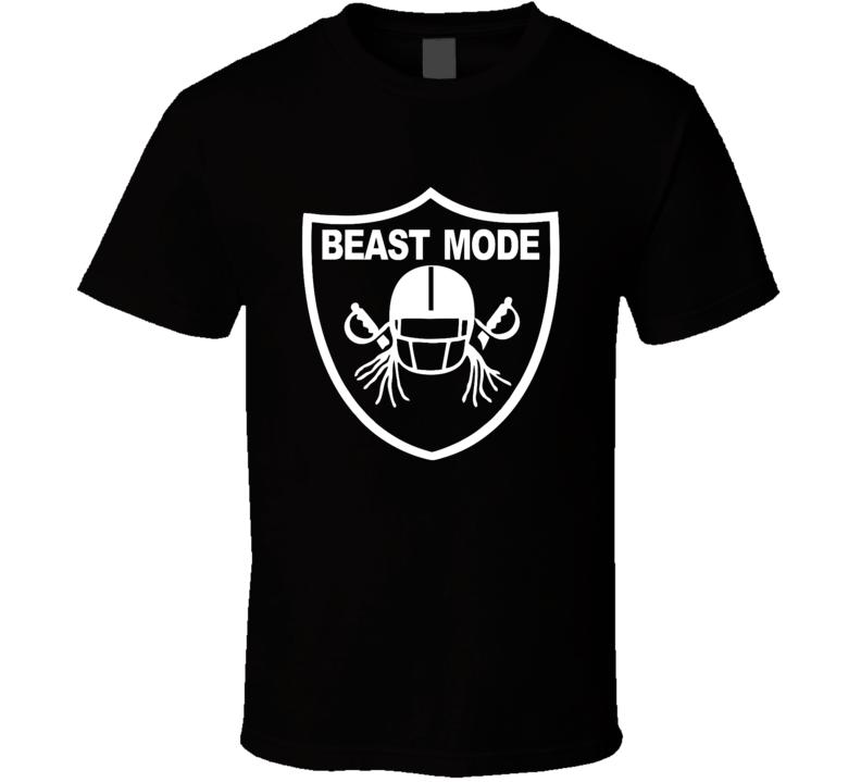 Marshawn Lynch Comeback Raiders Football Beastmode Fan T Shirt