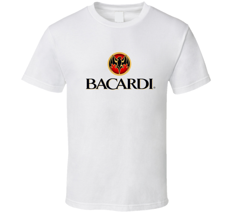 Bacardi Liquor Whiskey Beer Gin Father's Day Gift T Shirt