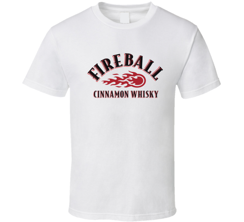 Fireball Liquor Whiskey Beer Gin Father's Day Gift T Shirt