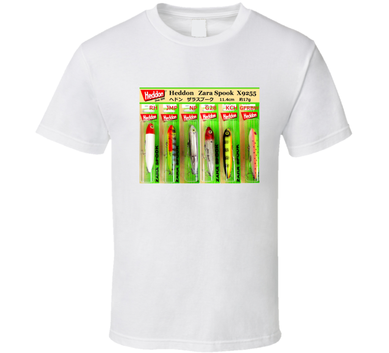 Zara Spook Lure Fishing Father's Day Gift T Shirt