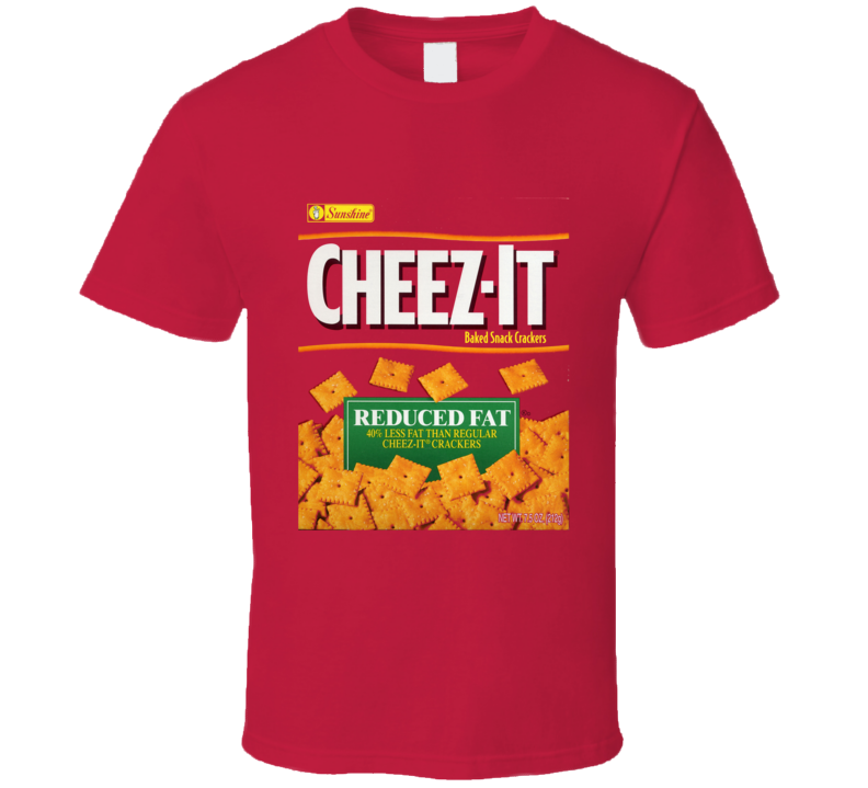 Cheez It Food Snack Gift Fan T Shirt