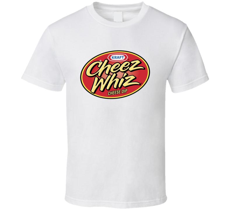 Cheez Whiz Food Snack Gift Fan T Shirt