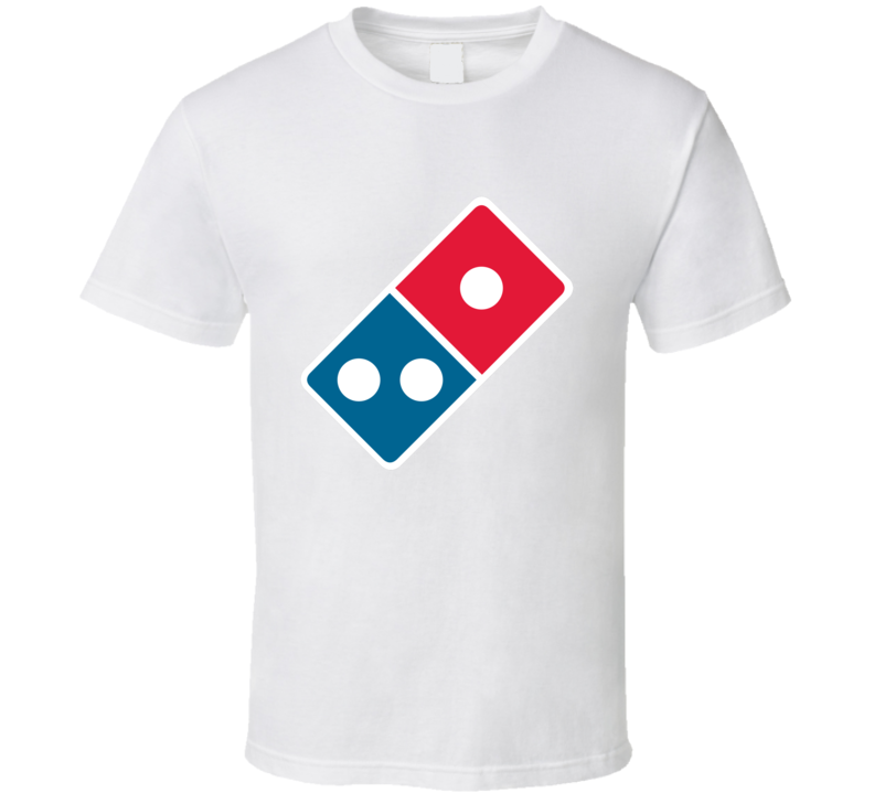 Domino's Pizza Food Snack Gift Fan T Shirt