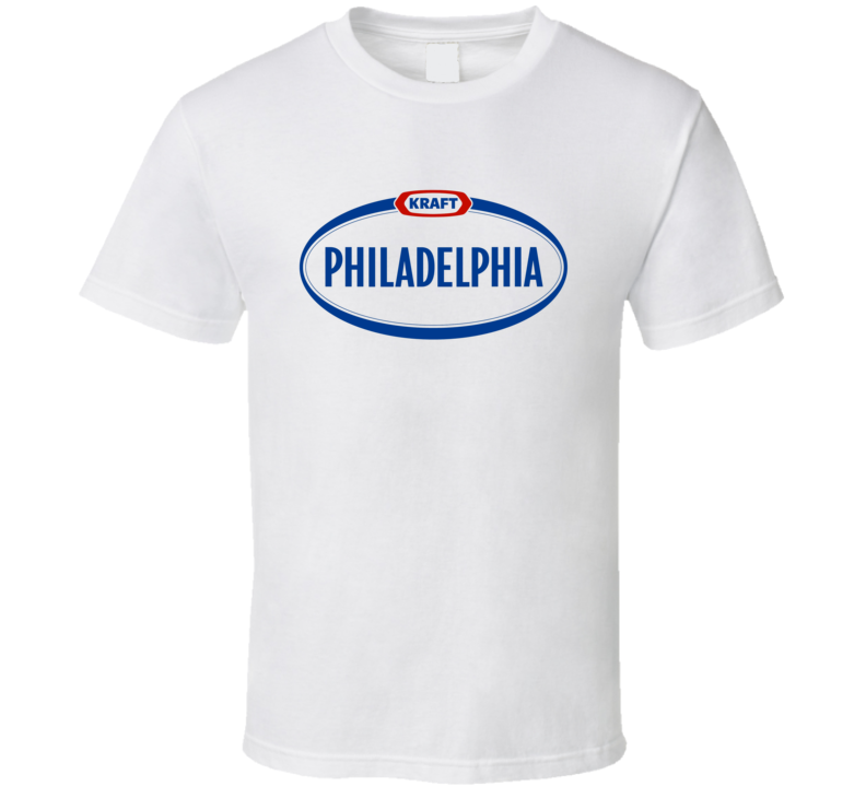 Philadelphia Cream Cheese Food Snack Gift Fan T Shirt