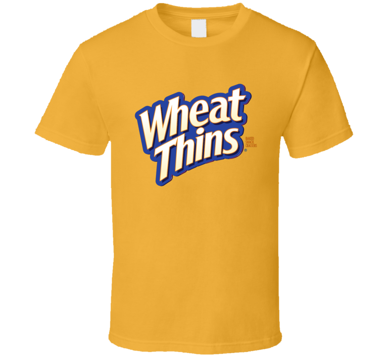 Wheat Thins Crackers Food Snack Gift Fan T Shirt