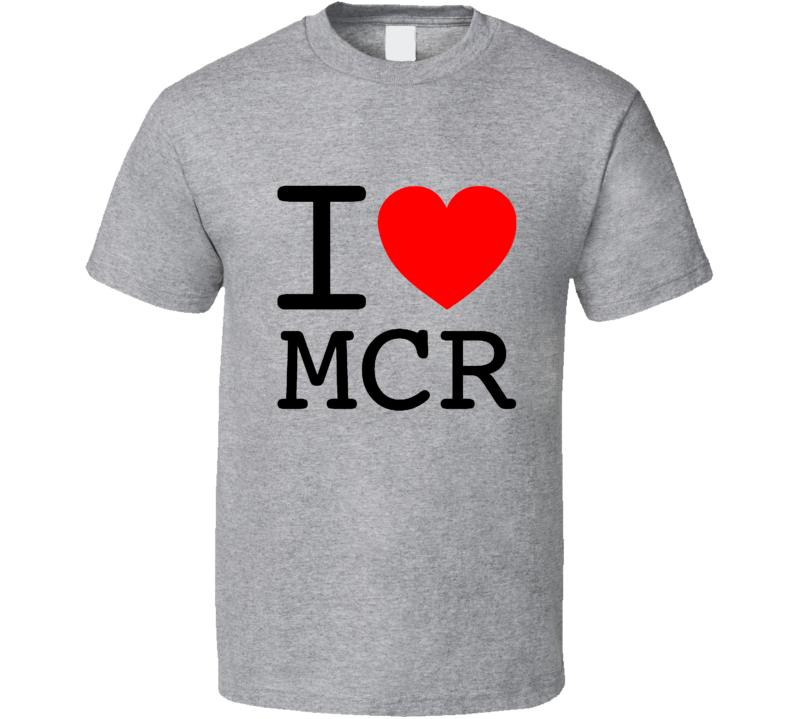 One Love Manchester MCR T Shirt