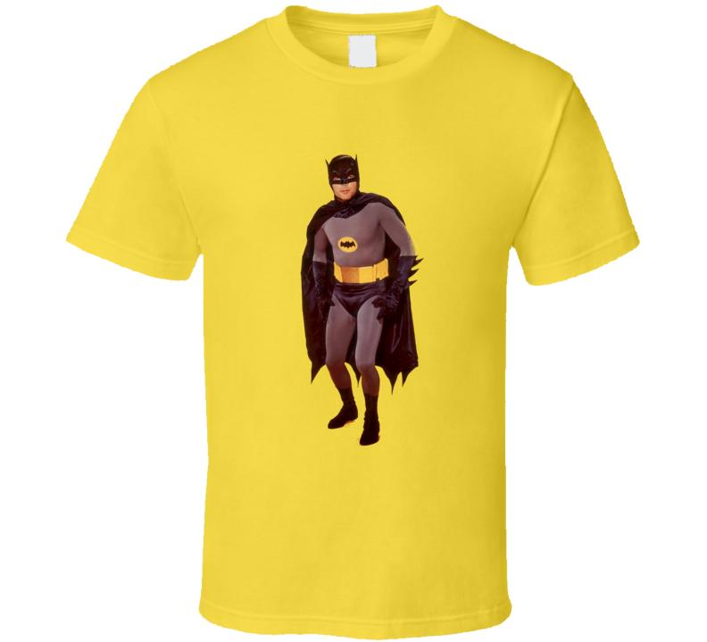 Adam West Batman Rip Actor Tv T Shirt