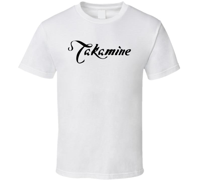 Takamine Guitar Music Lover Gift T Shirt