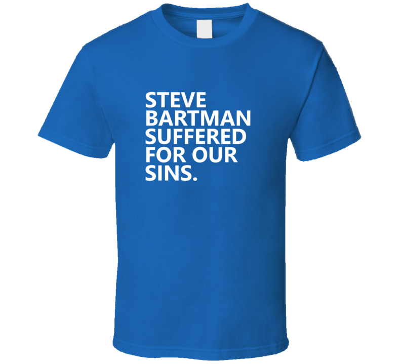 Steve Bartman Suffered Baseball Chicago Cubs Ring T Shirt