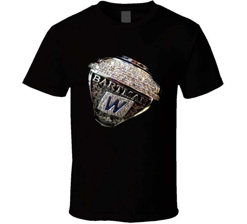 Steve Bartman Suffered Baseball Chicago Cubs Ring T Shirt