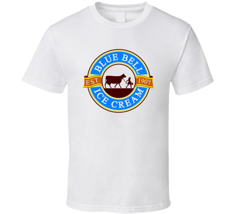 Blue Bell Ice Cream Gift T Shirt