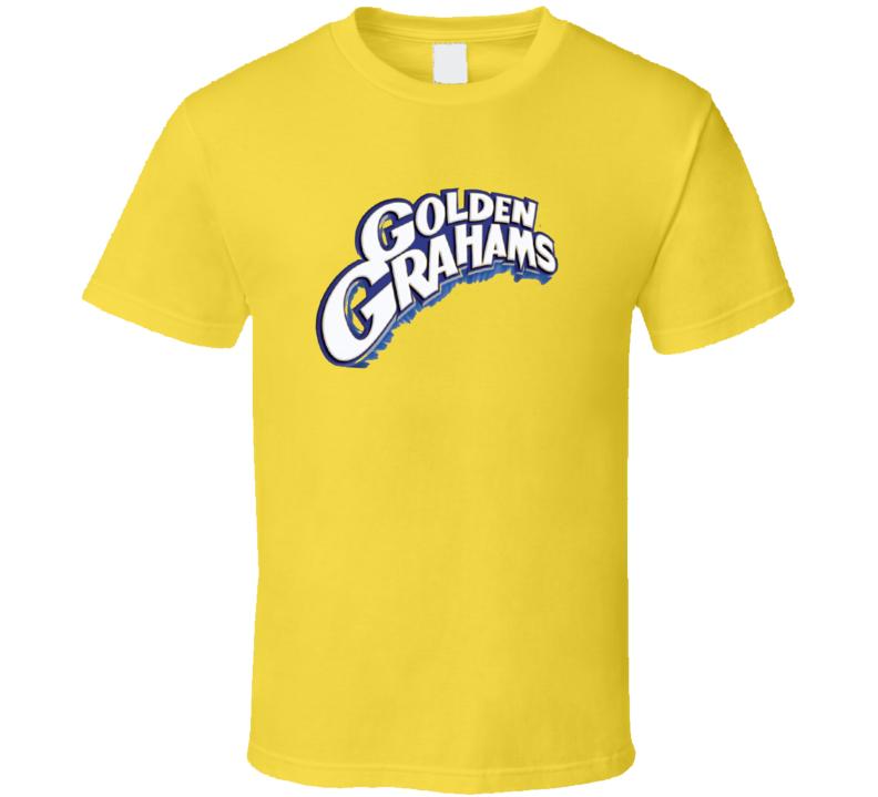 Golden Grahams Cereal Food Gift Worn T Shirt