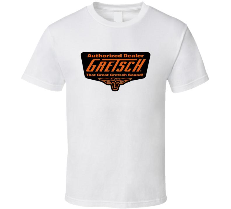 Gretsch Guitar Music Accessories Logo Gift T Shirt