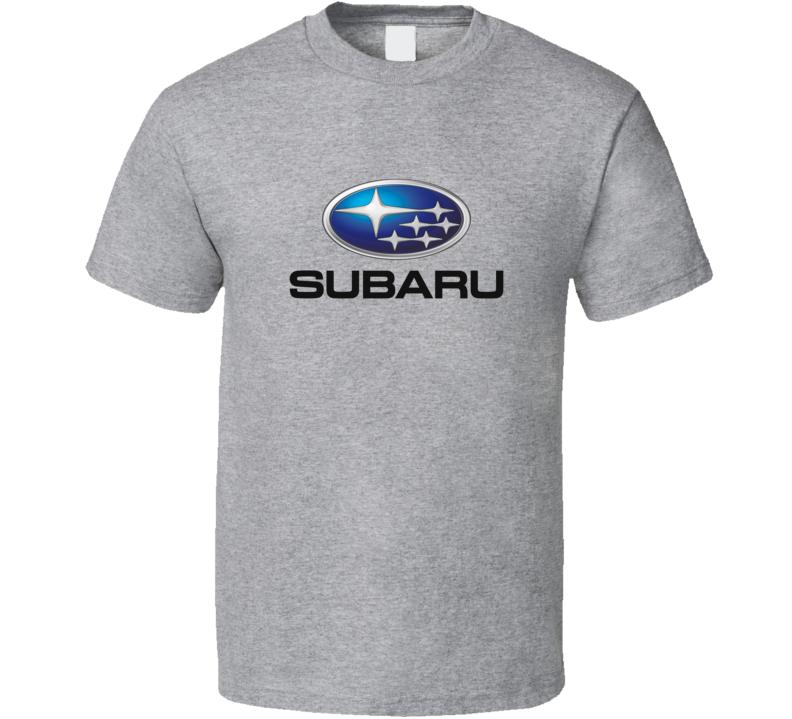 Subaru Logo Cool Classic Car Gift T Shirt