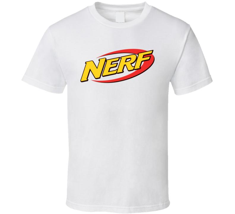 Nerf Logo Toy Gun Gift T Shirt