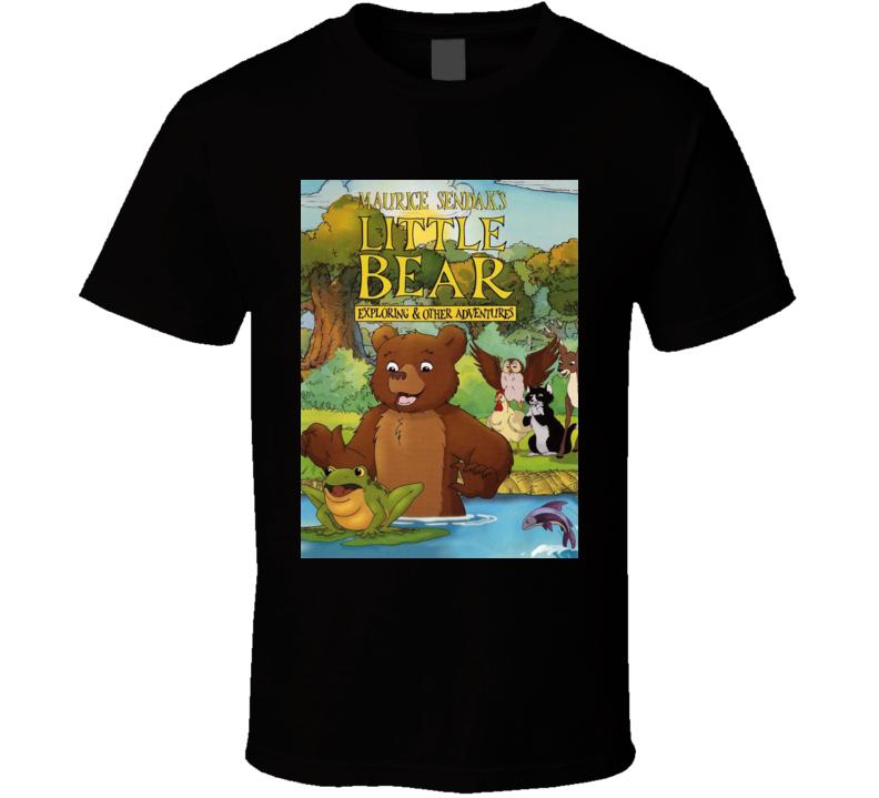 Little Bear Tv Show Kids Gift Childhood T Shirt