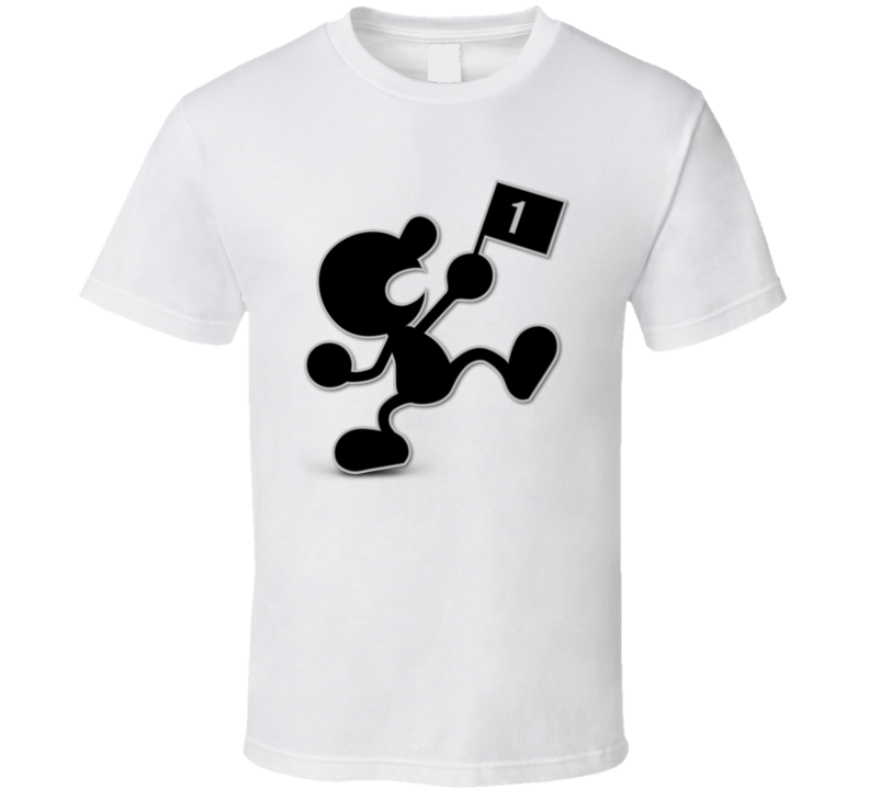 Mr. Game & Watch  Video Game Gift T Shirt