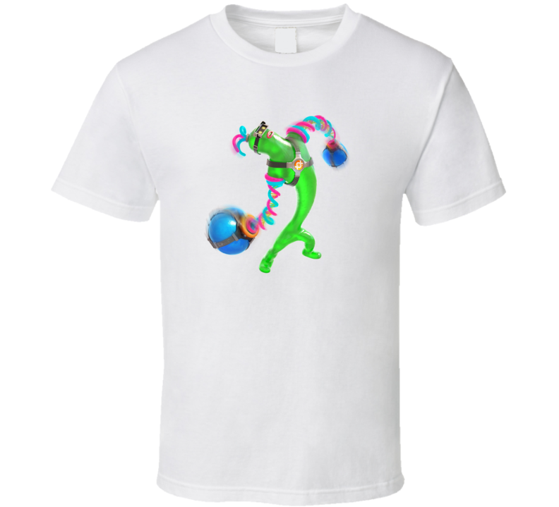 Helix ARMS Video Game Gift T Shirt