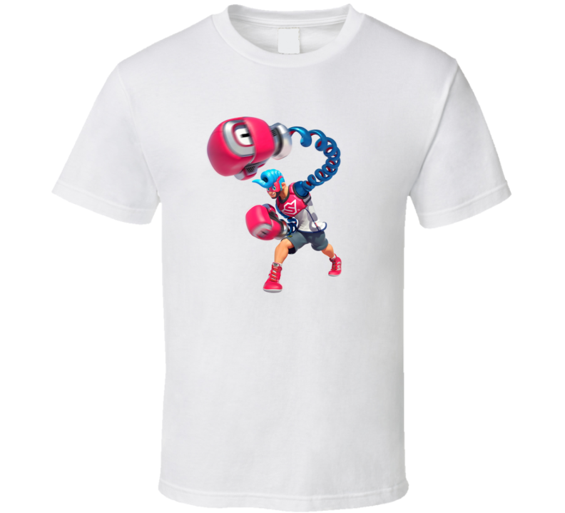 Spring Man ARMS Video Game Gift T Shirt