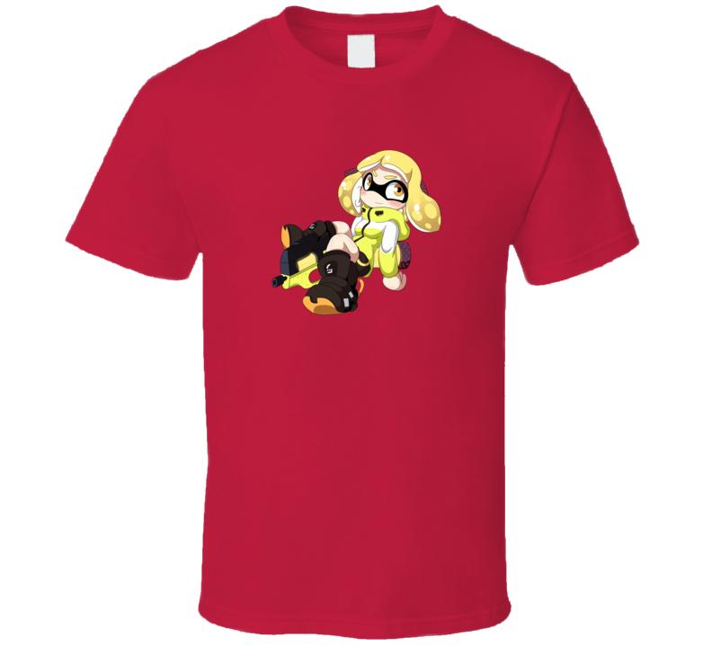 Agent 4 Splatoon series Video Game Gift T Shirt