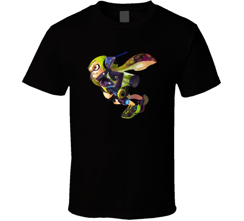 Agent 3 Splatoon series Video Game Gift T Shirt