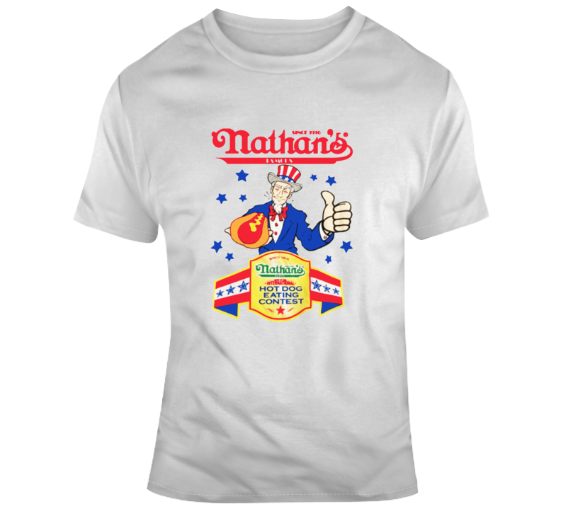 Joey Chestnut Nathan's Eating Contest Replica T Shirt