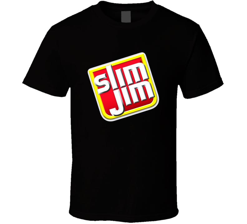 Slim Jims Snack Brand Logo Gift T Shirt