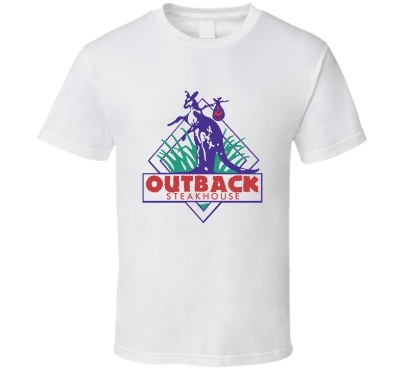 Outback Steakhouse Food Restaurant Gift T Shirt Unisex Tshirt