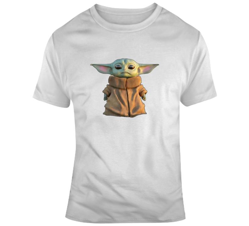 Baby Yoda The Mandalorian Wars Gift T Shirt