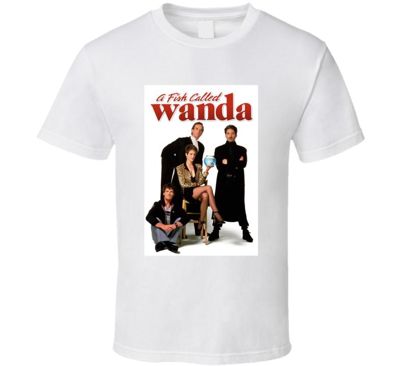 A Fish Called Wanda 80's Movie Poster Gift T Shirt