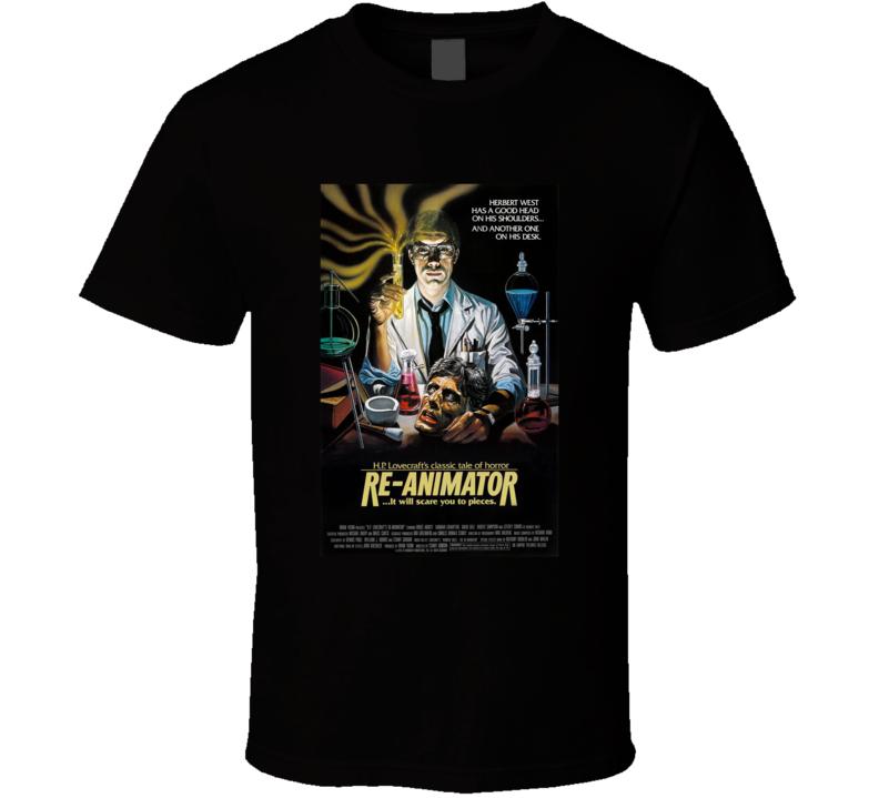 Re-animator 80's Movie Poster Gift T Shirt