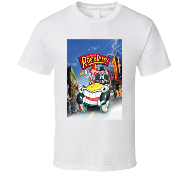 Who Framed Roger Rabbit 80's Movie Poster Gift T Shirt
