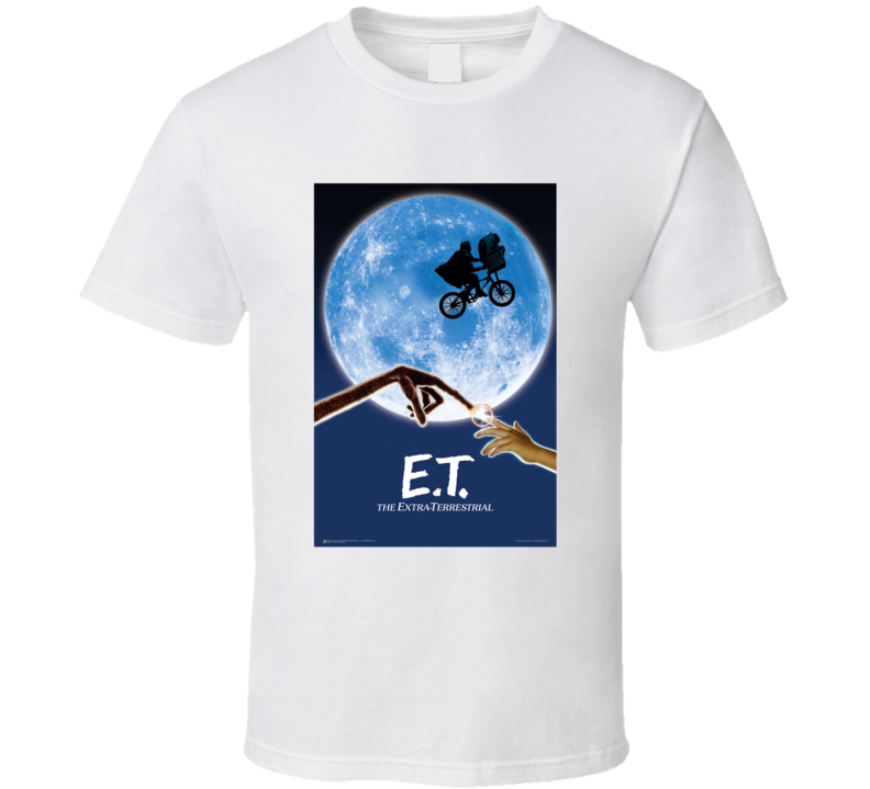 Et 80's Movie Poster Gift T Shirt