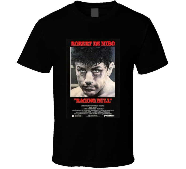 Raging Bull 80's Movie Poster Gift T Shirt